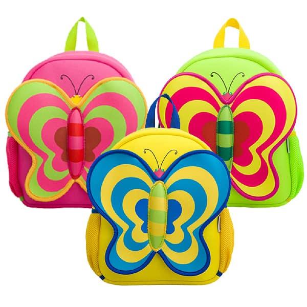Детска 3D раница Пеперуда