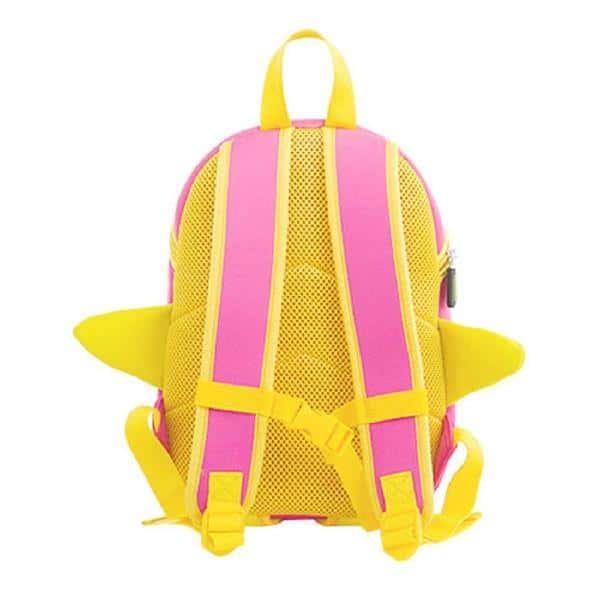 Детска 3D раница Пате розово
