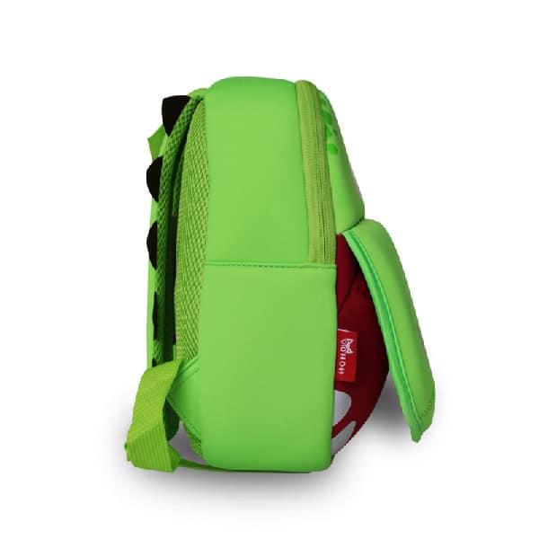 Детска 3D раница Хипо зелен NoHoo BG