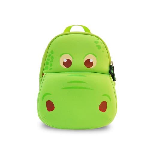 Детска 3D раница Хипо зелен