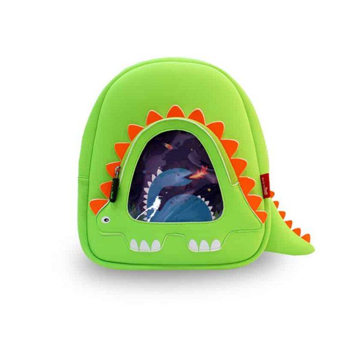 Детска 3D раница Дракон огнен