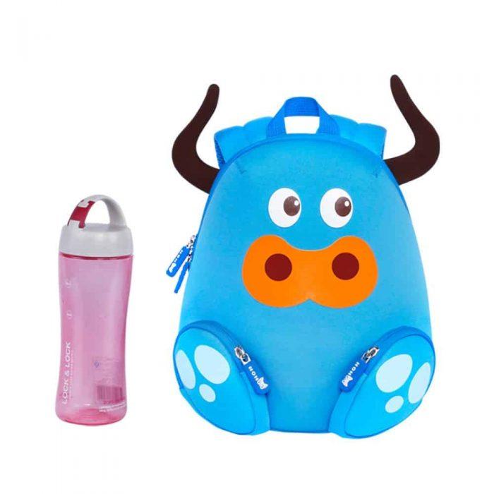Детска 3D раница Синият бик
