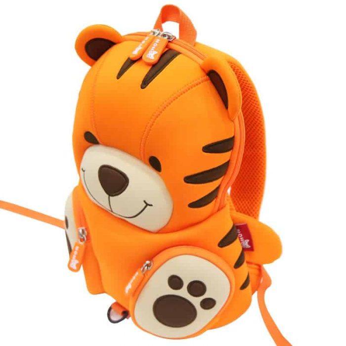 Детска 3D раница Тигър с родителски контрол NoHoo BG