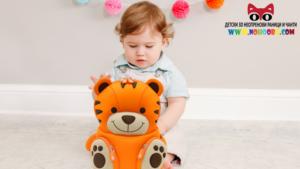 Детска раничка Тигър с родителски контрол